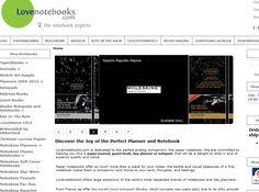 Lovenotebooks – Ein Onlineshop mit vielen Marken #notebook #diary #stationary #shop #online