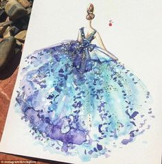 Talented: Chan Clayrene, from Singapore, creates beautifully intricate and…