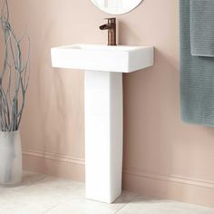 bathroom pin house the in tiny mini our pedestal victorian stanford porcelain is sink sinks