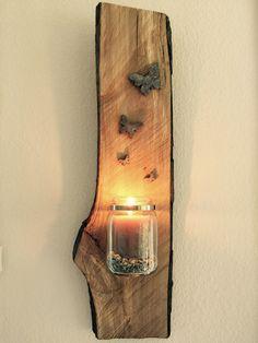 Einmachglas auf Holz