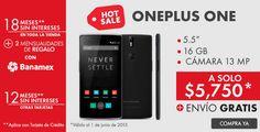 Promoción Hot Sale Linio Celular Oneplus One