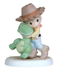 Loving this Woody Boy & Rex Figurine on #zulily! #zulilyfinds