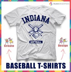 1000 images about baseball softball t shirts on pinterest for Where can i order custom t shirts