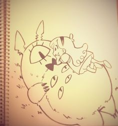 △ Gravity Falls- Mabel and Bill Cipher △ Totoro crossover