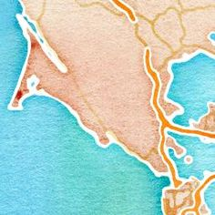 Enter location and it will generate a watercolor map perfect for framing! maps.stamen.com