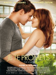 THE VOW Romantic drama film directed starring Channing Tatum and Rachel McAdams. The film is based on the true story of Kim and Krickitt Carpenter. The Vow was a box office success, becoming the sixth highest-grossing romantic drama film of all time See Movie, Movie List, Movie Tv, Epic Movie, Rachel Mcadams, Channing Tatum, Movies Showing, Movies And Tv Shows, The Vow