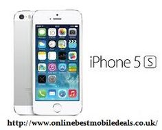 Buy Apple iPhone 5s 64GB Silver Contracts online through Online Best Mobile Deals.