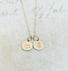 cd65b916e73ee 72 Best Gold Initial Necklaces images in 2018