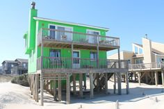 570 South Nags Head, NC Oceanfront Rental Home - SUN REALTY (pf)