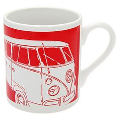 An ideal gift for a fans of the iconic VW Camper Van Dishwasher safe, the porcelain Camper Van Mug measures approx H x diameter All Gifts, Gifts For Him, Great Gifts, Vw Camper, Unusual Gifts, Dishwasher, Porcelain, Fans, Tableware