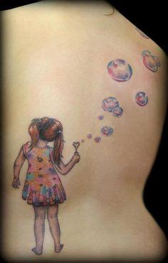 tatuagem de bolinhas de sabão - Pesquisa Google
