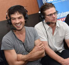 Ian Somerhalder - SIRIUSXM Comic-Con 2016 on Saturday (July 23) in San Diego, Calif. http://www.zimbio.com/photos/Ian+Somerhalder/SiriusXM+Entertainment+Weekly+Radio+Channel/yFxHKppZbgY