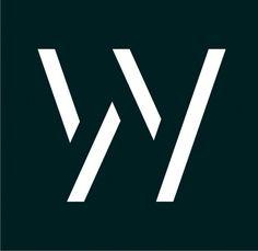 W - Logo By Daphni Kontou www.daphnikontou.com  custom Logo, W Monogram, W Logo, negative space logo, type, W, bike logo, cycling Logo, Modern, postmodern, minimal