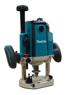 Black Friday 2014 Makita HP Plunge Router (Variable Speed) from Makita Cyber Monday Must Have Woodworking Tools, Woodworking Tools For Beginners, Carpentry Tools, Router Woodworking, Woodworking Ideas, Hand Router, Router Bits, Black Friday Tools, Makita Power Tools