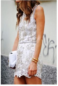 Great embellishment... a little ornate, but looks good on a short dress.