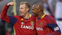 Nat Borchers and Jamison Olave! the best defense in the MLS Real Salt Lake, Best Defense, Tandem, Rap, Soccer, Baseball Cards, Sports, Life, Hs Sports