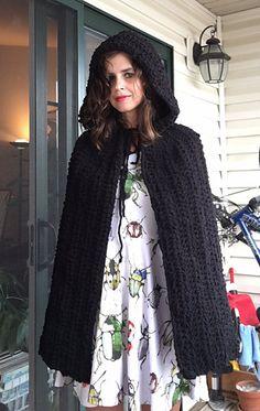 Easy Hooded Cape Crochet Pattern