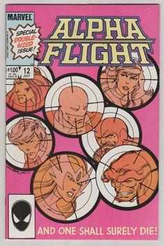 Alpha Flight V1 12.  NM. July 1984.  Marvel by RubbersuitStudios #comicbooks #alphaflight #johnbyrne