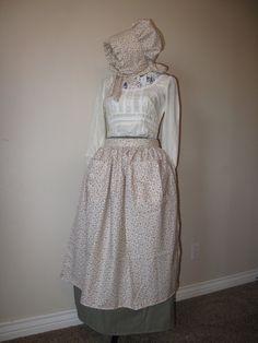 Pioneer clothes long pioneer skirt pioneer by CuteMormonStuff, $50.00