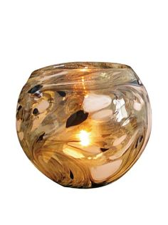50% OFF La Meridian Hand Blown Glass Tea Candle Holder