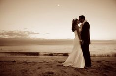 Capitolia Beach wedding  Photo by Mike Larson