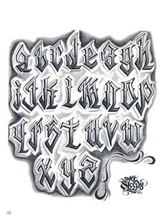 Lowrider Tattoo Flash   Pin Pin Letters To Live By Lowrider Tattoo Studios Hawaii Dermatology ...