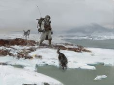 ice world, Yun Ling on ArtStation at https://www.artstation.com/artwork/ice-world-56412449-da5b-48d9-a10b-dbd9b8299172