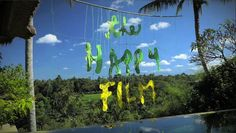 The Happy Film Titles by Sagmeister & Walsh , via Behance Sagmeister And Walsh, Stefan Sagmeister, The Happy Film, Go To New York, Get Happy, Moving Pictures, Documentaries, Typography, Behance