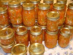 Grandma Brodock's Sweet Pepper Relish Recipe - You will need: onions, bells…