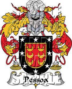 Pestana Family Crest apparel, Pestana Coat of Arms gifts Pamplona, Family Shield, Family Crest, Crests, Coat Of Arms, Gifts For Family, Family History, Portuguese, Portugal