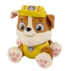 Paw Patrol Nickelodeon, -Plush Pup Pals-Rubble