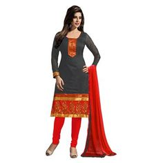 Buy Salesway Black Georgette Dress Material by salesway, on Paytm, Price: Rs.879?utm_medium=pintrest