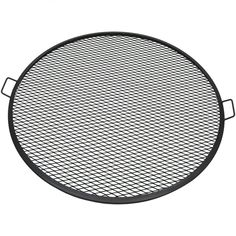 New Sunnydaze X-Marks Fire Pit Cooking Grill Grate, Outdoor Round BBQ Campfire Grill, Camping Cookware, 40 Inch sold by Serenity Health Fire Pit Grate, Steel Fire Pit, Diy Fire Pit, Fire Pit Backyard, Fire Pits, Fire Pit Cooking Grill, Cooking On The Grill, Cooking Salmon, Campfire Grill