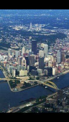 Pittsburgh aerial view