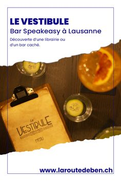 Le Vestibule est le premier bar speakeasy de Lausanne. Il propose une carte de divers cocktails. #Lausanne #suisse #cocktail Vestibule, Lausanne, Bar Speakeasy, La Prohibition, Vodka, Petits Bars, Candle Jars, Cocktails, Switzerland