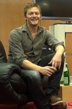 gotta love a smiling Reedus