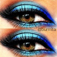 Colorful eyeshadow @ burrrita