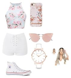 """""""Summer"""" by teaganhill on Polyvore featuring Topshop, Converse, So.Ya and Abbott Lyon"""