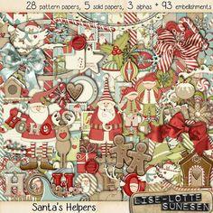 Digital Kit Santa's Helpers  A Digital by DigitalScrapWorld