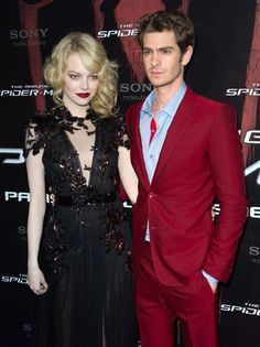'Amazing Spider-Man's' Emma Stone, Andrew Garfield Complement Each Other in Couture