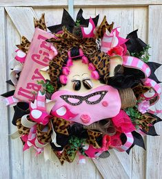 Your place to buy and sell all things handmade Spring Wreaths, Summer Wreath, Diy Wreath, Mesh Wreaths, Cow Decor, Scarecrow Wreath, Cow Head, Sunflower Wreaths, Country Farm