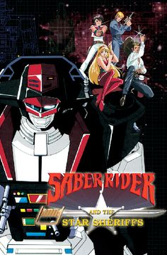 Saber Rider and the Star Sheriffs......waiting for the movie!