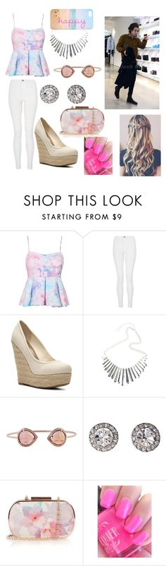 """Shopping with Harry!"" by one-direction-tumblr-girl ❤ liked on Polyvore featuring Quiz, Madden Girl, OroClone and Oasis"