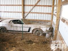 Lost And Found Larry Shinoda S First 1969 Boss 302 Mustang Concept Car Most Amazing Barn Find Ever