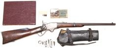 Spencer Carbine Model 1860 .52Caliber With All Accoutrements Shells, Book…