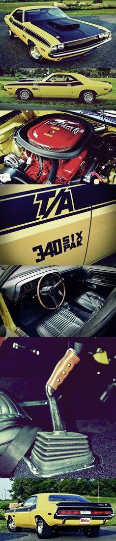 1970 Challenger T / A 340 Six Pak