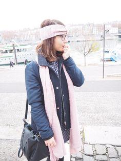 Mes petits carreaux Janis & Jones - Maristochats #fashion #look #outfit #blog #blogger #fashionblogger