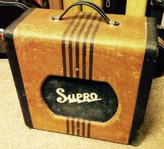 1950's Vtg Tweed Supro Valco Chicago 51 Tube Guitar Amp/Amplifier