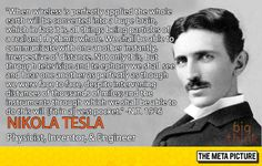 Nikola Tesla Describes A Modern Smartphone In 1926. If reincarnation exists, I want this guy for a neighbor, he'd add so much to my BBQs.