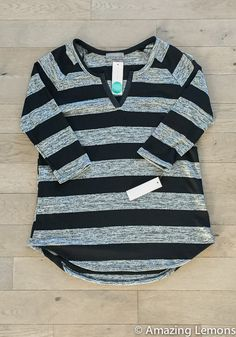 The thin stripes on the Taylor dress didn't work with nursing but maybe thicker ones would do better? Like this for casual top to play with baby